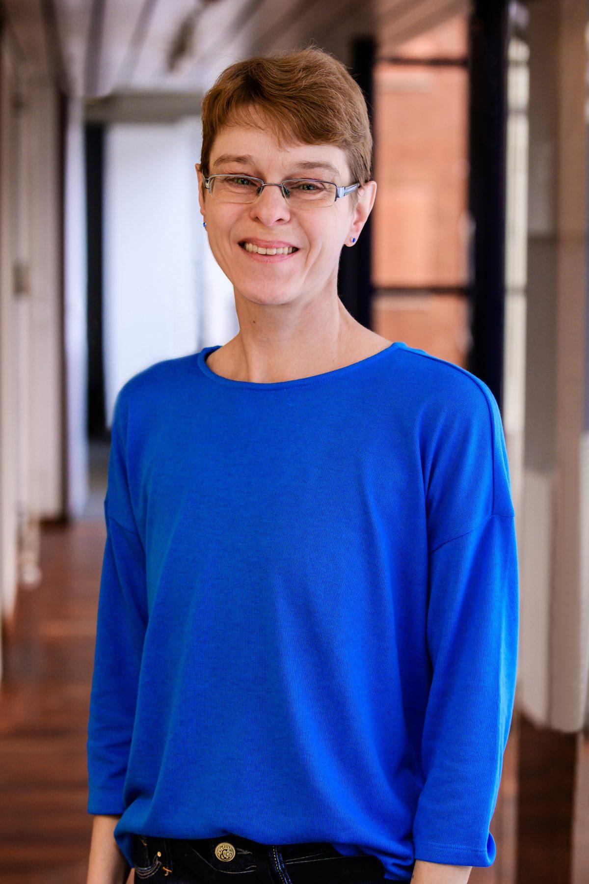 Portrait von Dagmar Edelmann